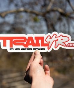 Red 4Runner Die Cut Sticker