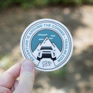 Trail 4Runner Original Sticker (5th Gen Front-End)