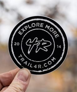 Trail4R - 4Runner Explore More Stamp Black