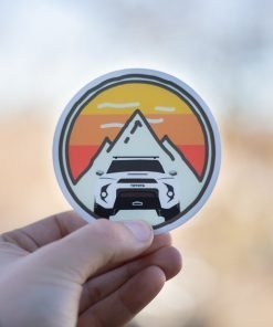 Trail4R Adventure Sticker Heritage Edition