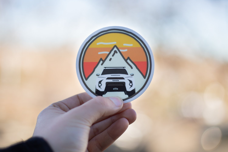 Trail4R Adventure Sticker Heritage Edition