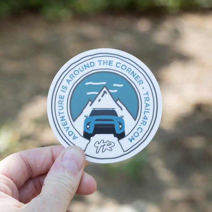 Trail 4Runner 5th Gen Sticker - Cavalry Blue
