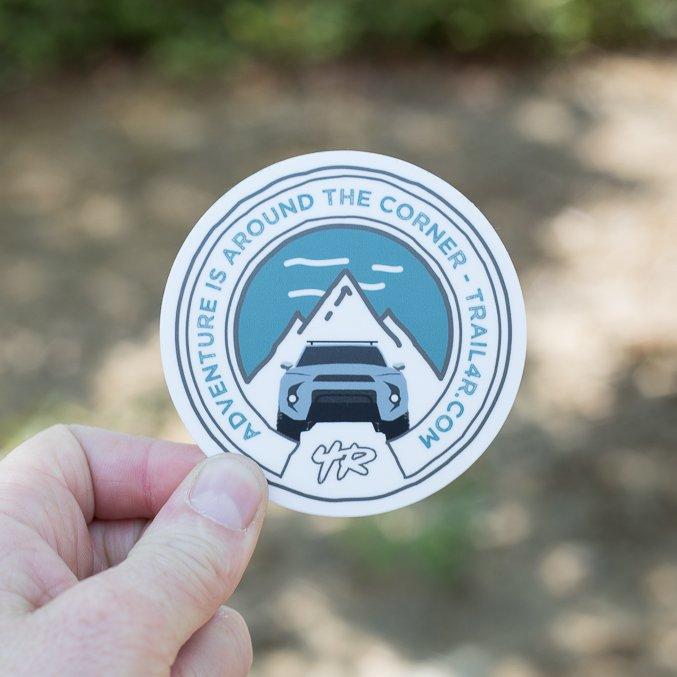 Trail 4Runner 5th Gen Sticker - Cement