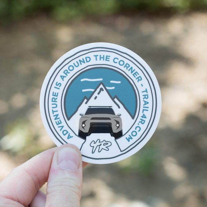 Trail 4Runner 5th Gen Sticker - Qiucksand Tan