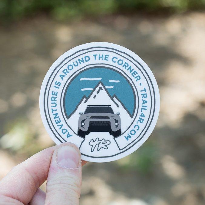 Trail 4Runner 5th Gen Sticker - Silver