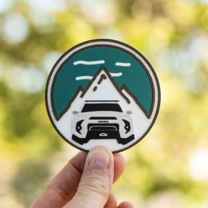 Trail 4R PVC Circle Mountain Patch - Classic - Shop Trail 4Runner Apparel & Accessories