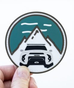 Trail 4R PVC Circle Mountain Patch - Classic - Shop Trail 4Runner Apparel & Accessories