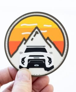 Trail 4R PVC Circle Mountain Patch - Heritage