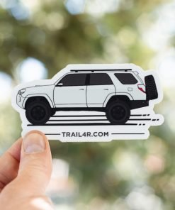 5th Gen 4Runner Stickers - Toyota 4Runner Side-Shot