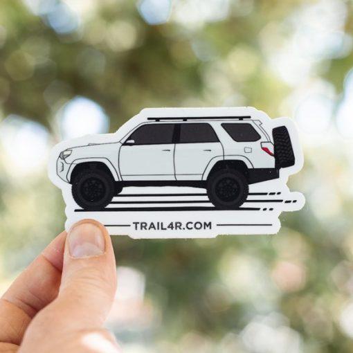 5th Gen 4Runner Stickers - Toyota 4Runner Side-Shot