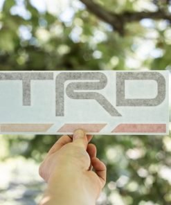 TOYOTA TRD Dash Decal Heritage