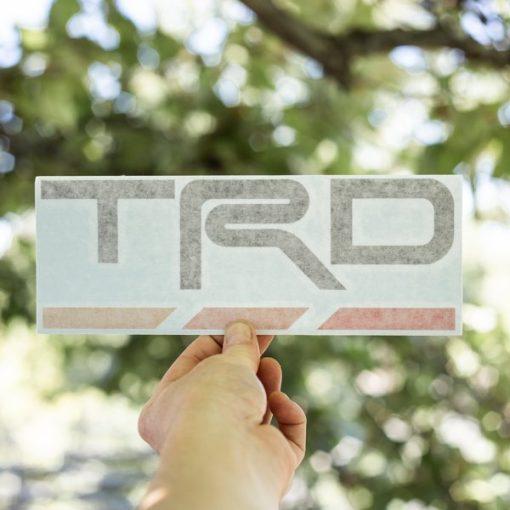 TOYOTA TRD Dash Decal Heritage
