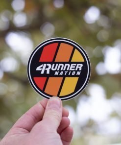 4Runner Nation Sticker (Classic)