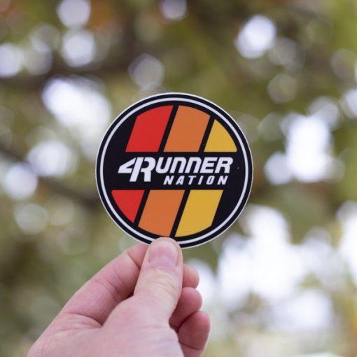 4Runner Nation Sticker (Classic)