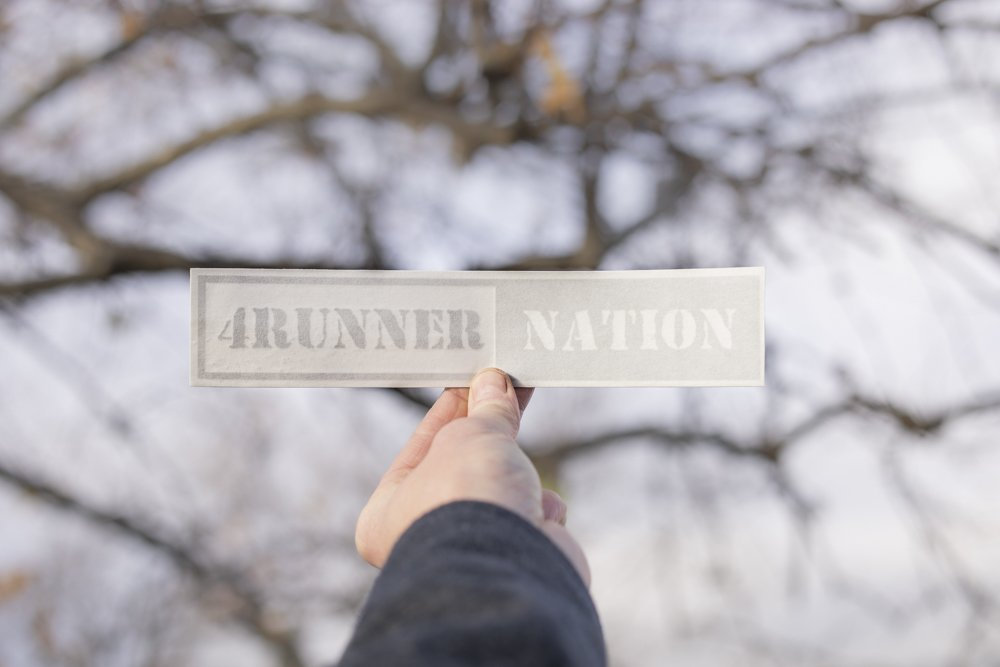 4Runner Nation Military Decal