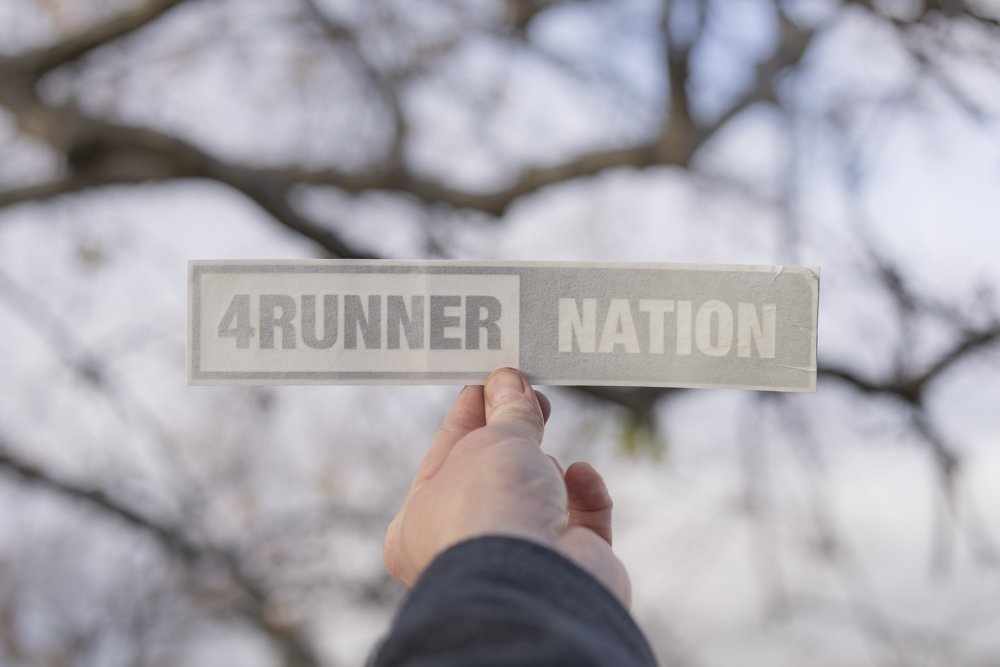 4Runner Nation Decal - Simple