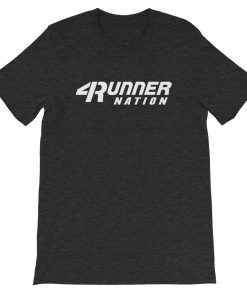 Toyota 4Runner Nation Classic Text T-Shirt (Heather Black)