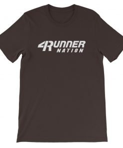 Toyota 4Runner Nation Classic Text T-Shirt (Brown)