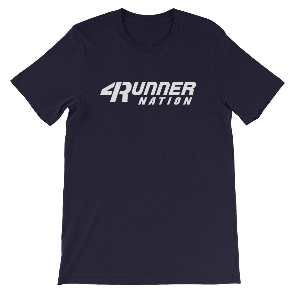 Toyota 4Runner Nation Classic Text T-Shirt (Navy Blue)