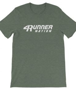Toyota 4Runner Nation Classic Text T-Shirt (Heather Green)