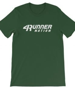 Toyota 4Runner Nation Classic Text T-Shirt (Green)