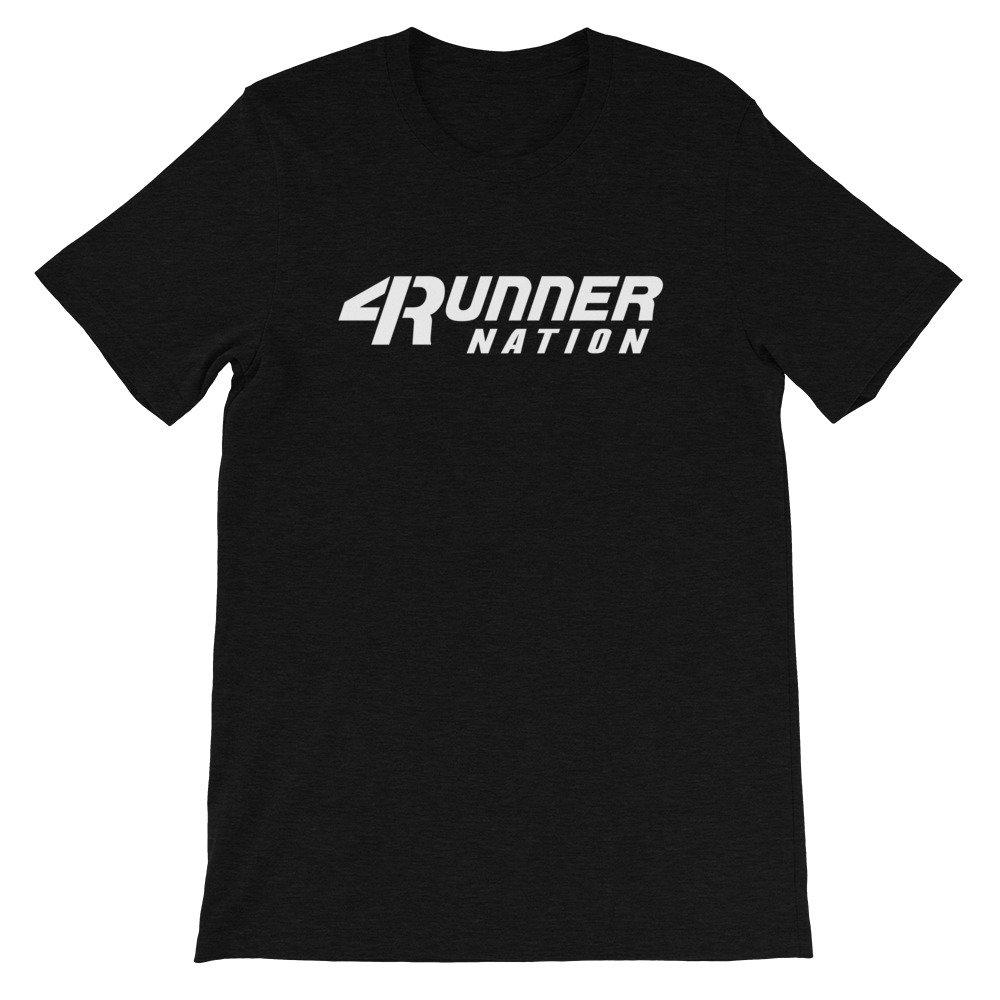 Toyota 4Runner Nation Classic Text T-Shirt (Black)