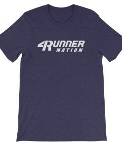 Toyota 4Runner Nation Classic Text T-Shirt (Purple)