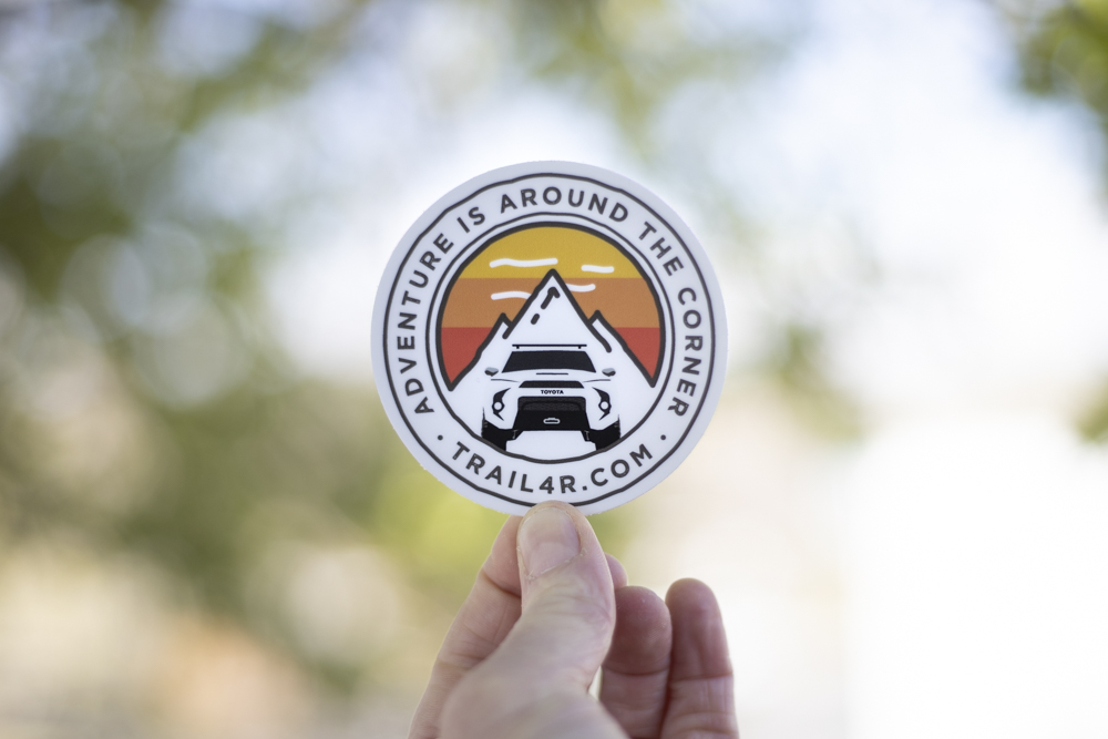 Adventure Around the Corner - Toyota Heritage Stripes