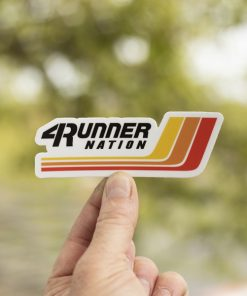 4Runner Nation Racing Stripes Sticker