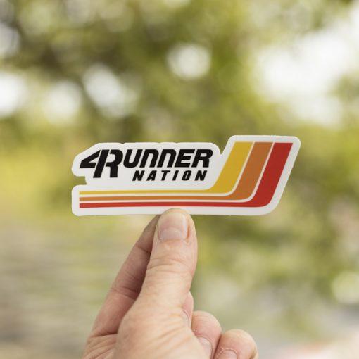 4Runner Nation Racing Stripes Sticker