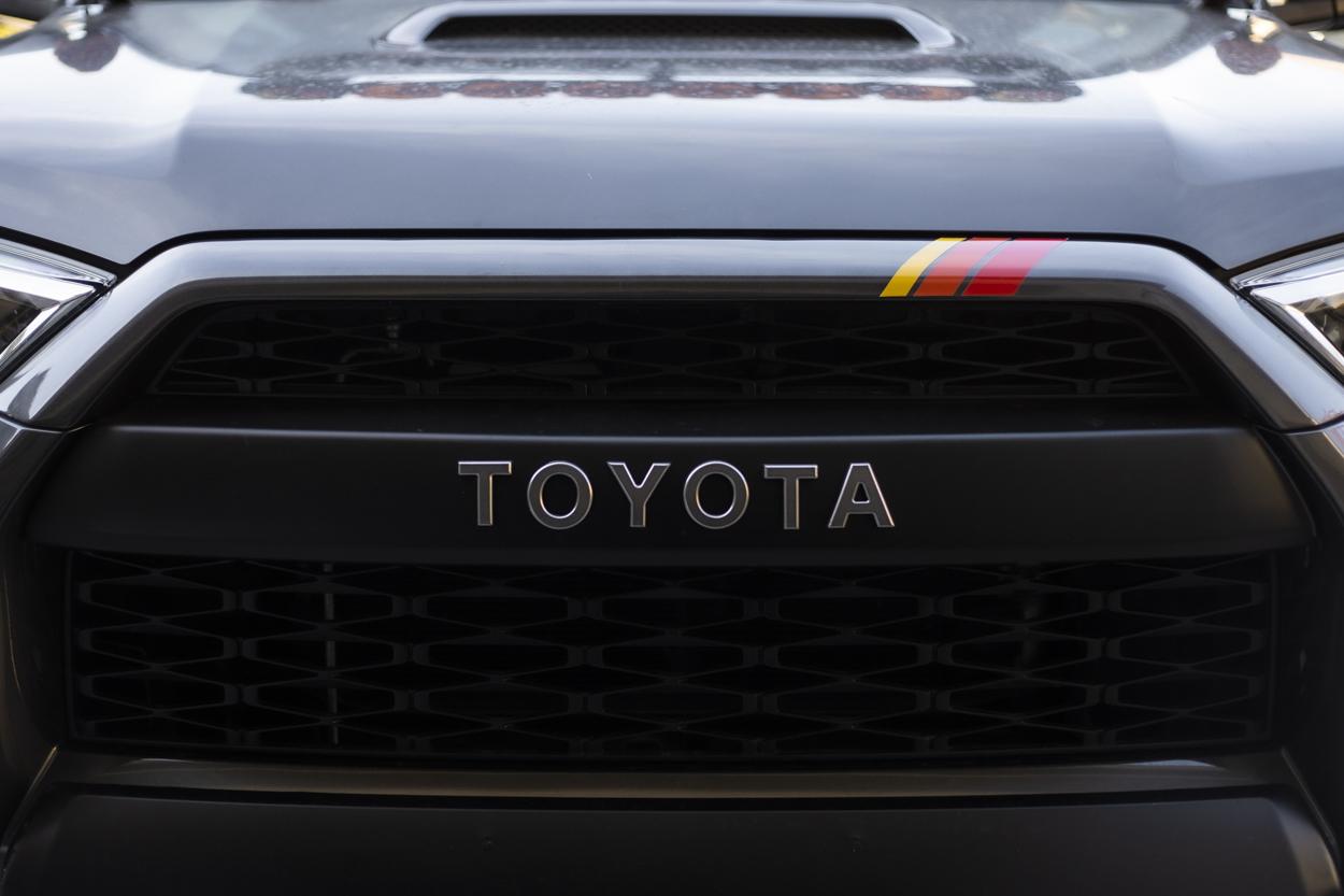 TRD Stripes for TOYOTA 4Runner, Tacoma, Tundra, and FJ Cruiser
