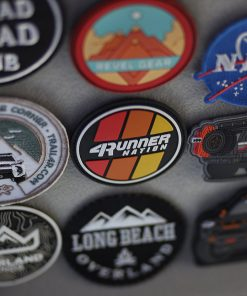 4Runner Nation Circle PVC Patch