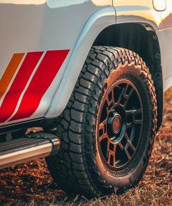 TRD Stripe Decals on C-Pillar for Toyota 4Runnert (Extra Large 36